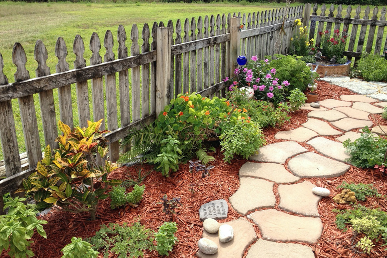 Top tips for making small improvements to your outdoor space